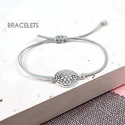 POM Boutique silver plated bracelet