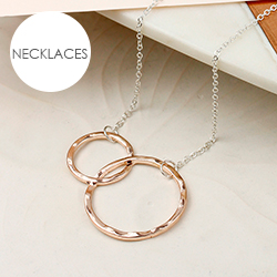 POM Boutique rose gold necklaces