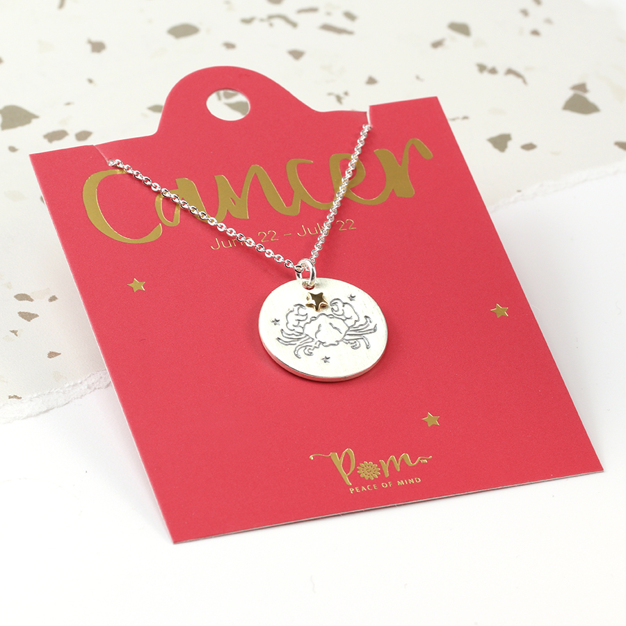Pom Boutique zodiac necklace