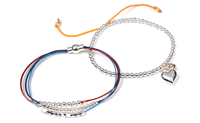 Myelom UK Teenage Cancer Trust bracelets