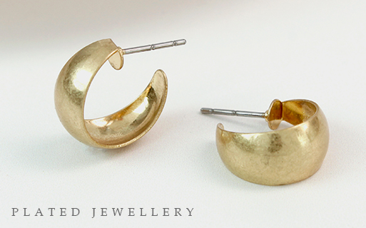 Plated fashion jewellery