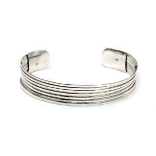 Sterling silver bangle with a multi strand design | Image 4