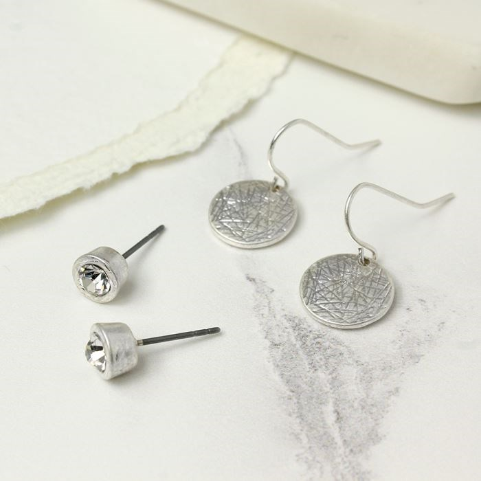 how to set a stud earring